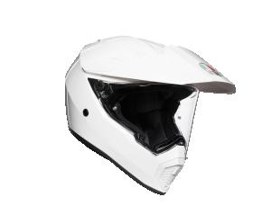 ΚΡΑΝΟΣ AGV AX-9 DUAL GLOSS WHITE
