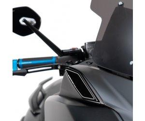 Τάπες Καθρεπτών Barracuda για Yamaha T-Max 530 (2017-2019)
