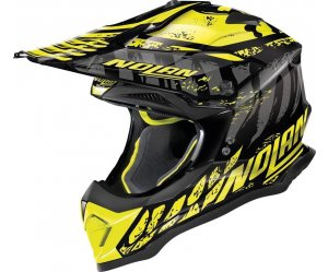 ΚΡΑΝΟΣ NOLAN N53 SKELETON 56 GLOSSY BLACK YELLOW