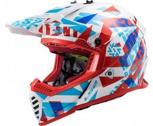 ΚΡΑΝΟΣ LS2 ΠΑΙΔΙΚΟ Fast Mini MX437J Evo Funky Red/White