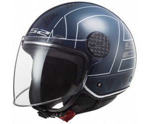 Κράνος LS2 Jet Sphere Lux OF558 Linus Cobalt