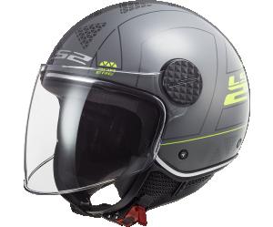 Κράνος LS2 Jet Sphere Lux OF558 Linus Nardo Grey