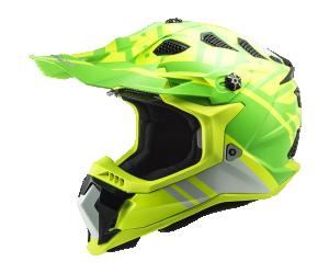 Κράνος LS2 MX700 Subverter Evo Gammax H-V Yellow/Green