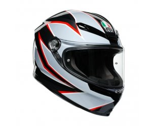 ΚΡΑΝΟΣ AGV K6 E2205 Multi Flash Matt Black/Grey/Red