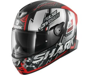 KΡΑΝΟΣ SHARK SKWAL 2 NOXXYS MAT BLACK RED SILVER