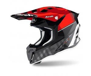 Κράνος Airoh Twist 2.0 Tech κόκκινο gloss