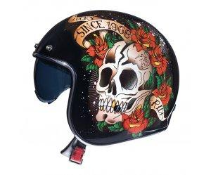 Κράνος MT Le Mans 2 SV Skull & Roses A1