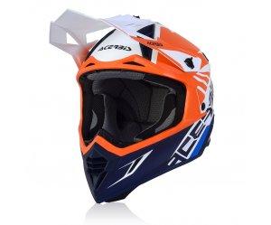 Κράνος Acerbis X-Track VTR 23901.204 πορτοκαλί/μπλε
