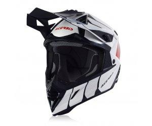 Κράνος Acerbis X-Track VTR 23901.239 άσπρο/κόκκινο