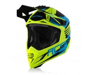 Κράνος Acerbis X-Track VTR turquoise-fluo