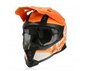 Κράνος Acerbis X-Racer VTR πορτοκαλί-πορτοκαλί