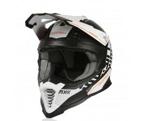 Κράνος Acerbis X-Racer VTR άσπρο-μαύρο