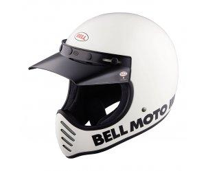 Κράνος Bell Moto 3 White Gloss