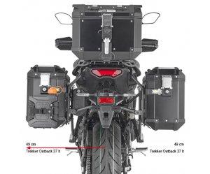 Βάσεις πλαϊνών βαλιτσών PLO2159CAM_TRACER 9 (21) για ΟΒΚ Yamaha GIVI