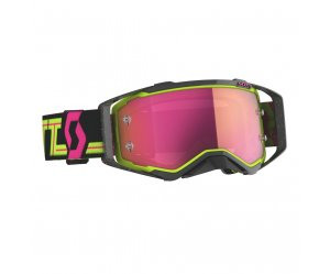 ΜΑΣΚΑ SCOTT PROSPECT BLACK/YELLOW/PINK CHROME WORKS