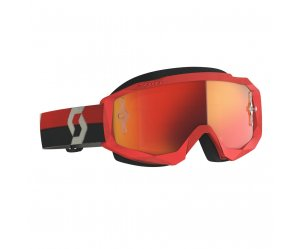 ΜΑΣΚΑ SCOTT HUSTLE X MX RED/GREY/ORANGE CHROME WORKS