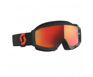 ΜΑΣΚΑ SCOTT HUSTLE X MX ORANGE/BLACK/ORANGE CHROME WORKS