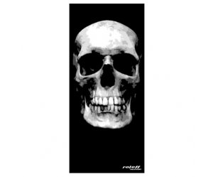 Φουλάρι Roleff Big Skull μαύρο