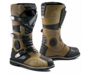 Μπότες Forma Terra δέρμα καφέ