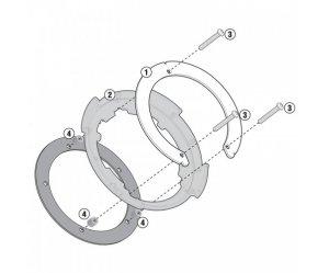 BF23 Σύστημα κλειδώματος σάκου στο ρεζερβουάρ GIVI