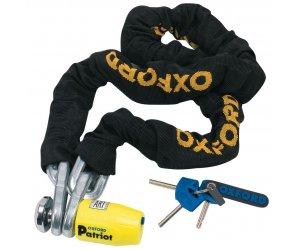 Oxford Patriot Chain & Padlock 12mm x 2.0m  OF797