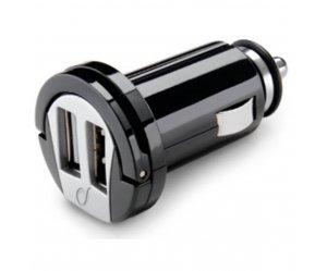 Αντάπτορας ρεύματος Διπλό USB interphone 12V / 24V σε 5V 2Α