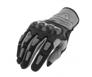 Γάντια Acerbis Carbon μαύρο-γκρί