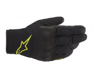 ΓΑΝΤΙΑ ALPINESTARS S MAX DRYSTAR BLACK/YELLOW FLUO