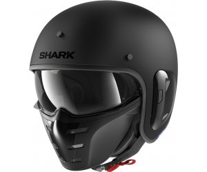SHARK S-DRAK 2 Κράνος Blank Mat KMA Black Matt