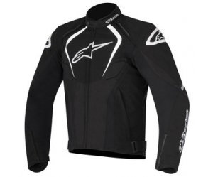 Μπουφάν Alpinestars T-JAWS V2 WATERPROOF JACKET Black - White Αδιάβροχο