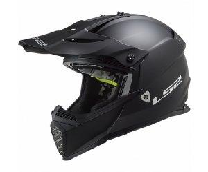 ΚΡΑΝΟΣ LS2 MX437 FAST EVO SOLID MATT BLACK