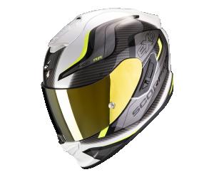 Κράνος Scorpion EXO-1400 AIR ATTUNE White/Yellow