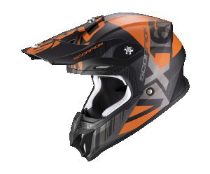ΚΡΑΝΟΣ Scorpion VX-16 Air Mach Μαύρο ματ / πορτοκαλί