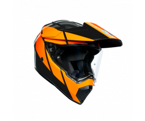 ΚΡΑΝΟΣ AGV AX-9 MULTI E2205 - TRAIL GUNMETAL/ORANGE