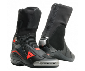 Dainese Μπότες Axial D1 Air Racing Black / Fluo Red