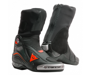Dainese Μπότες Axial D1 Racing Black / Red Fluo