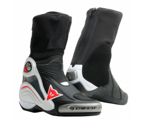 Dainese Μπότες Axial D1 Racing Black / White / Red Fluo