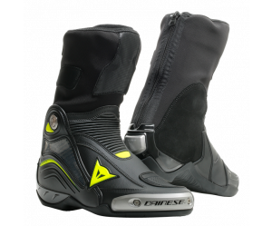 Dainese Μπότες Axial D1 Racing Black / Yellow-Fluo