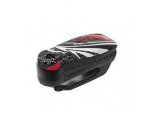Ηλεκτρονική Κλειδαριά Δισκοφρένου ABUS Detecto 7000 RS1 Flame Black