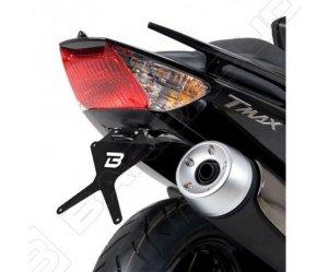 Αναδιπλούμενη βάση πινακίδας Barracuda για Yamaha T-Max 500 '08-'11