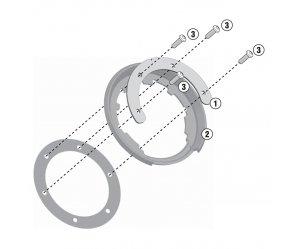 GIVI BF11 Σύστημα κλειδώματος σάκου στο ρεζερβουάρ