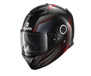ΚΡΑΝΟΣ SHARK SPARTAN CARBON SILICIUM RED/ANTHRACITE