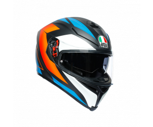 ΚΡΑΝΟΣ AGV K5 S E2205 MULTI- CORE BLACK/BLUE/ORANGE