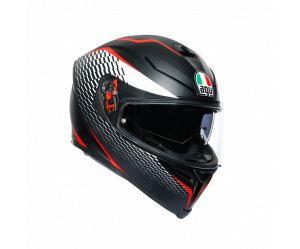 ΚΡΑΝΟΣ AGV K5 S E2205 MULTI- THUNDER MATT BLACK/WHITE/RED