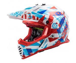ΚΡΑΝΟΣ LS2 MX437 FAST EVO FUNKY RED/WHITE