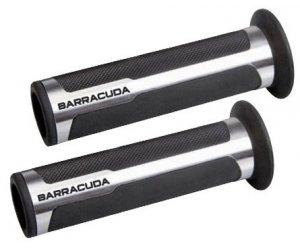 Barracuda Racing grips silver