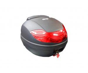 ΒΑΛΙΤΣΑ 32 ΛΙΤΡΑ μαύρο κόκκινο αντανακλαστικό με πλάτη, PILOT BAG
