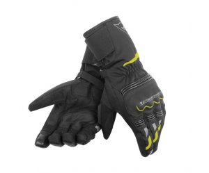 ΓΑΝΤΙΑ DAINESE TEMPEST UNISEX D-DRY LONG GLOVES ΜΑΥΡΟ / Yellow Fluo