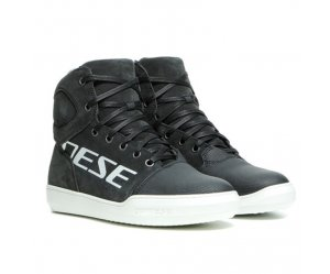 DAINESE YORK Γυναικεία Αδιάβροχα Μποτάκια LADY D-WP SHOES Dark Carbon / White