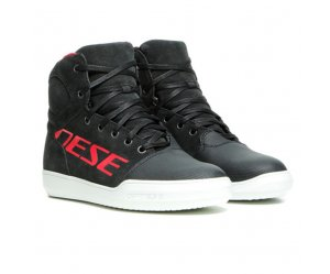 DAINESE YORK Γυναικεία Αδιάβροχα Μποτάκια LADY D-WP SHOES Dark Carbon / Red